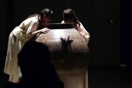 焼酎発酵音による現代神楽「甕(かめ)の音なひ」