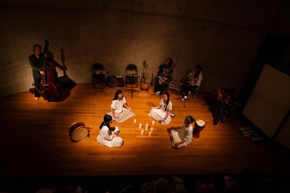 東方声聞録・つむぎねワークショップ公演「◎」写真公開しました。