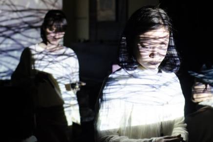 小林はくどうヴィデオパフォーマンス「AQUA WORKS 2015」